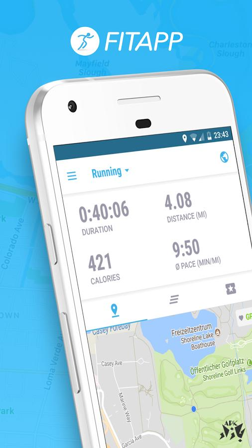 FITAPP Run Walk GPS & Calories Burner