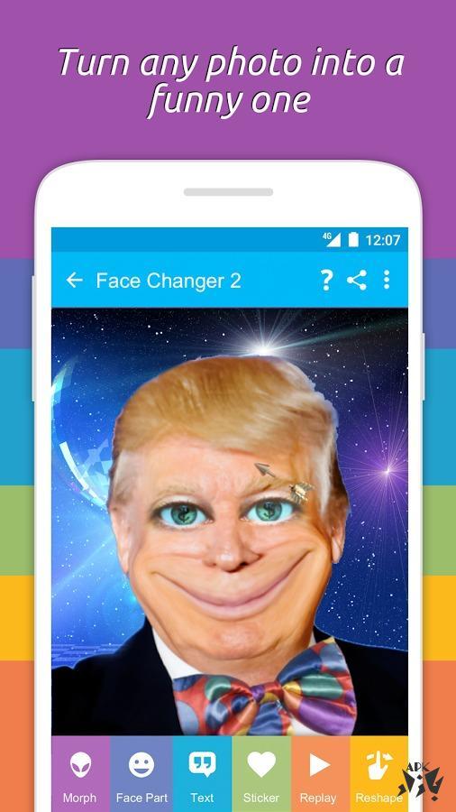 تغییر چهره حرفه ای - Face Changer 2