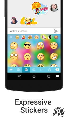 کیبورد  فارسی iKeyboard - emoji, emoticons