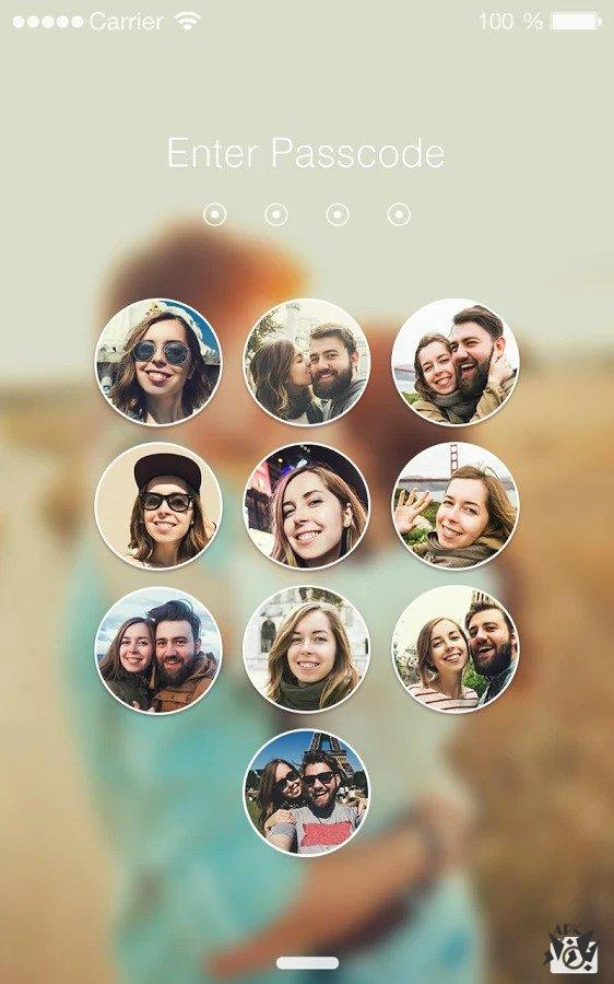قفل برنامه و صفحه با تصویر
