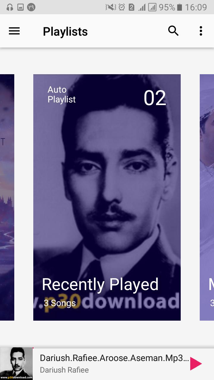 موزیک پلیر( music player)