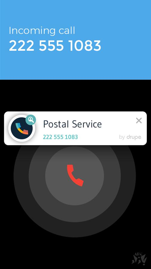 Contacts Phone Dialer: drupe - مدیریت تماس